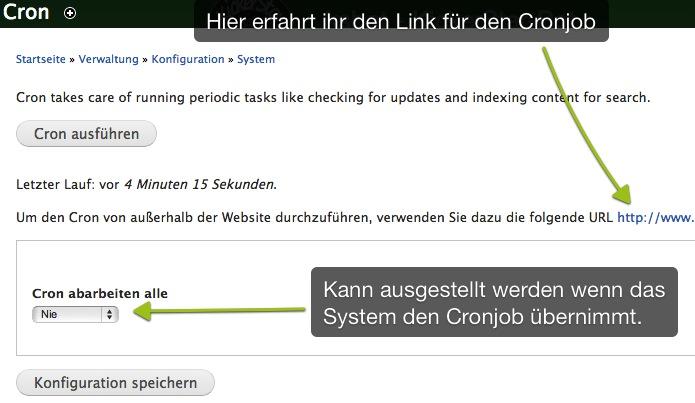 Cronjob_Drupal