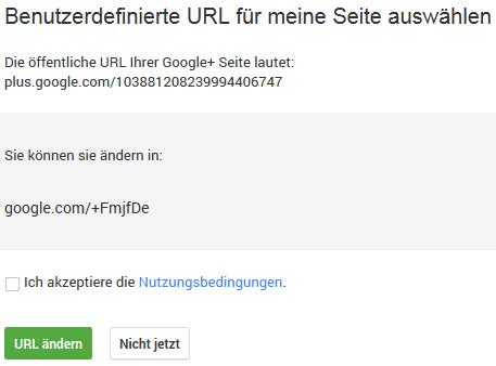 Google+ Custom-URL fmjf