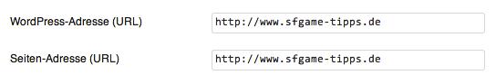WordPress Multisite Domain-Einstellungen